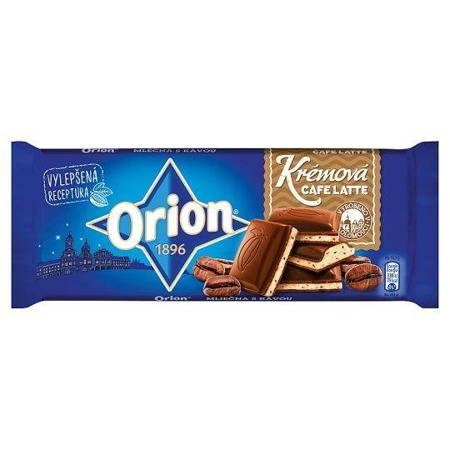 ORION 100g Creamy Coffee Latte Czekolada