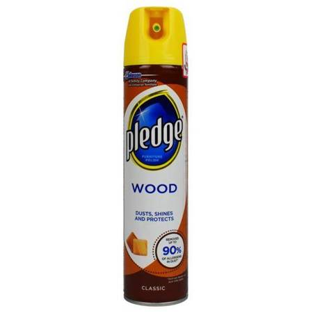 PLEDGE 250ml 5W1 Wood Classic Aerozol