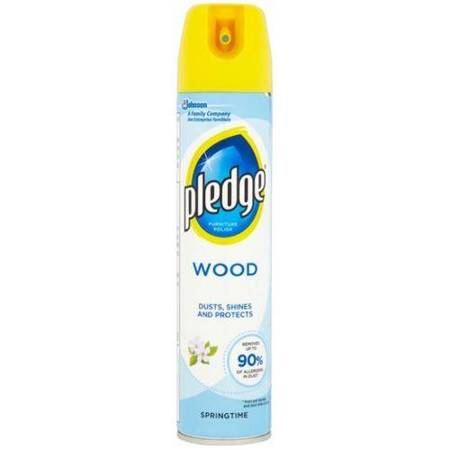 PLEDGE 250ml 5W1 Wood Springtime Aerozol