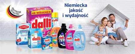 Proszek do prania DALLI Color 6,5kg (100 prań)
