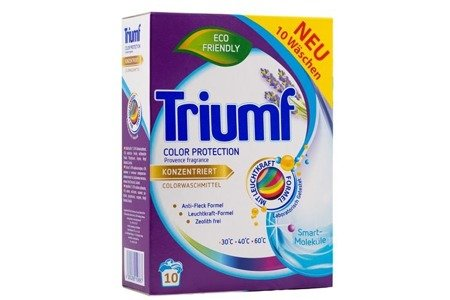 TRIUMF 720g Color Proszek do prania w kartonie NEW