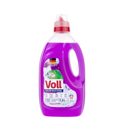 Żel do prania VOLL Color 1,5l (20 Prań)